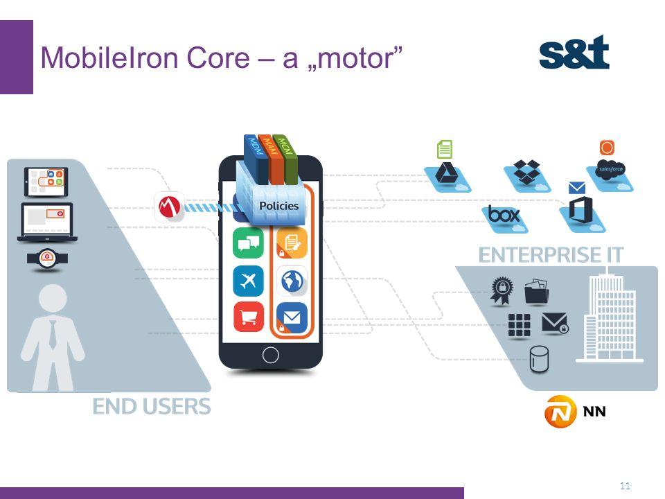 """MobileIron Core – a """"motor 11"""