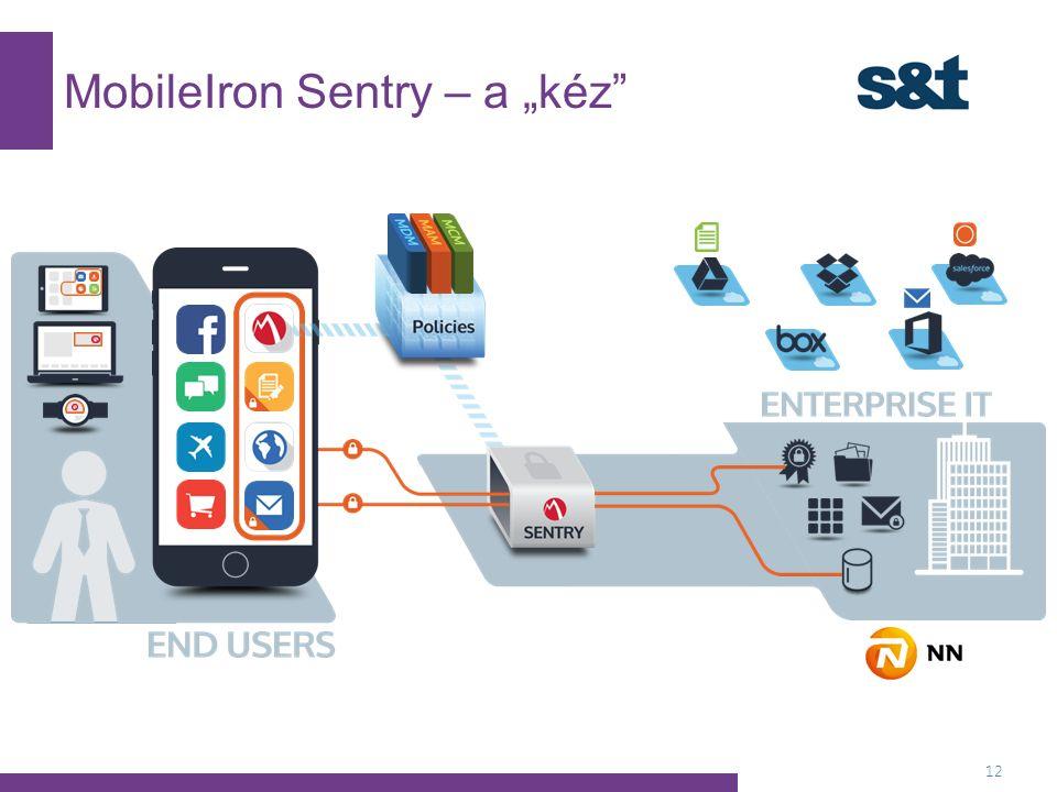 """MobileIron Sentry – a """"kéz 12"""