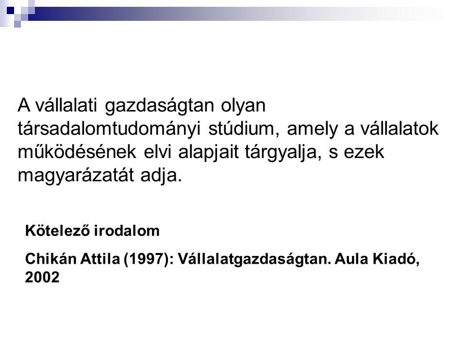 A vállalatkormányzás intézményei Magyarországon Tulajdonosok Közgyűlés Felügyelő bizottságIgazgatóság Elnök Vezérigazgató Menedzsment Munkavállalók Hierarchikus kapcsolat Felügyeleti kapcsolat Részvétel