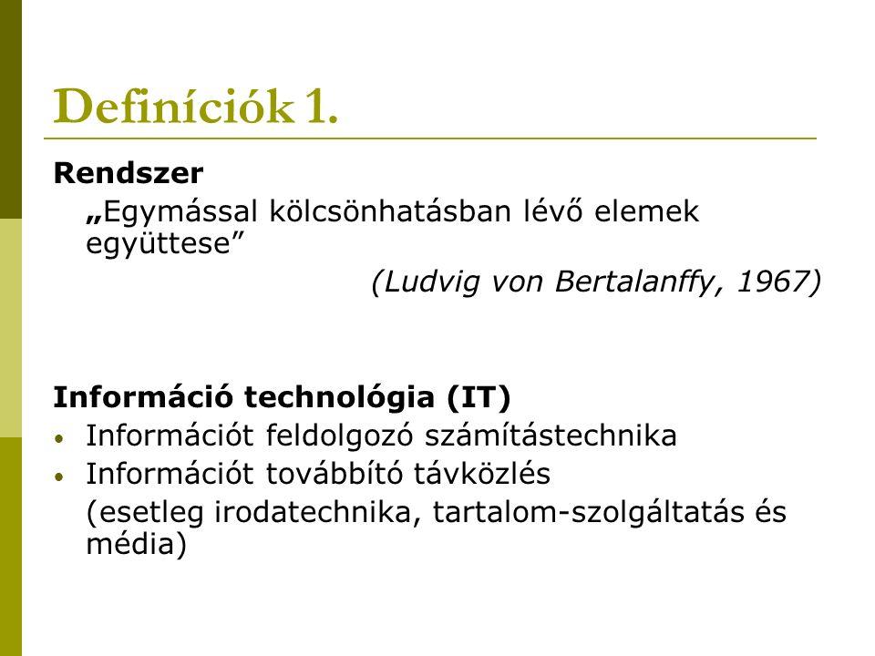 Definiciók 2.
