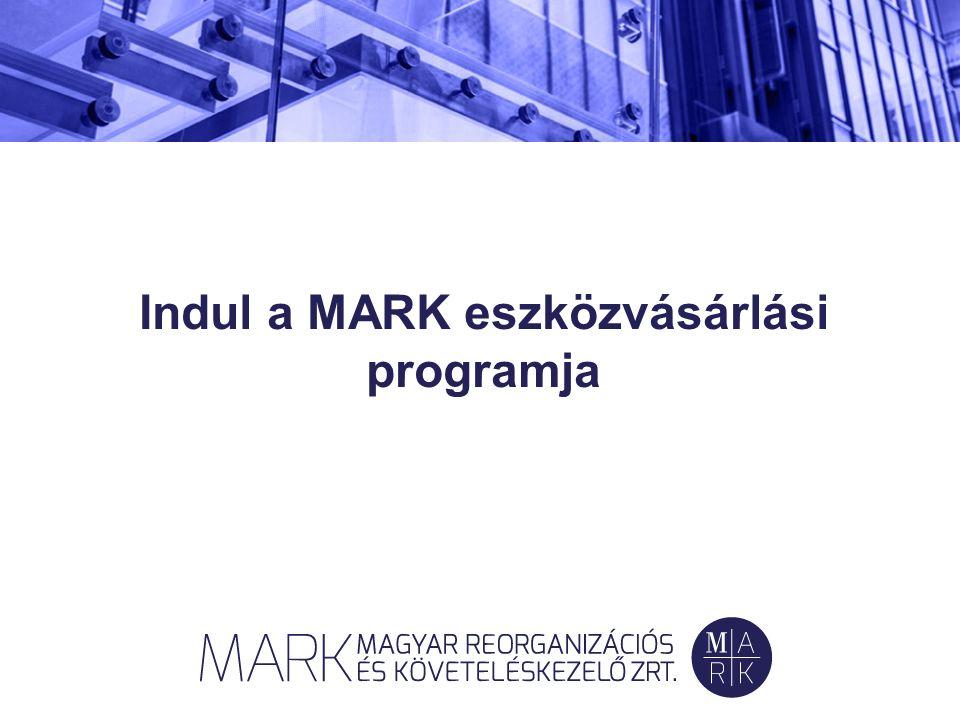 Indul a MARK eszközvásárlási programja