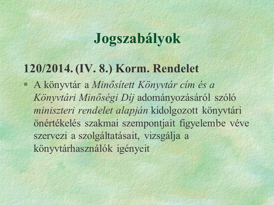Jogszabályok Az oktatási és kulturális miniszter 12/2010.