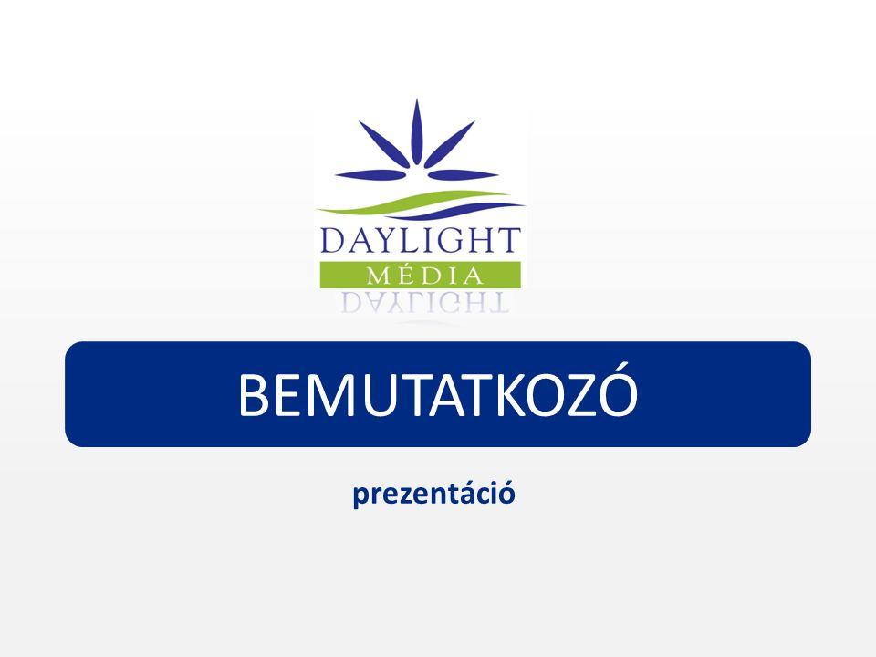 A prezentációt a Daylight Média Kft.