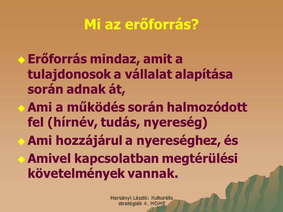 Harsányi László: Kulturális stratégiák 4. MOME Mi az erőforrás.