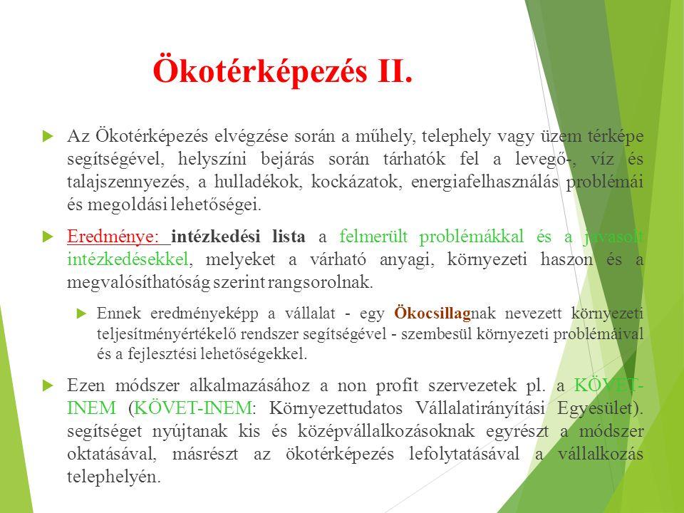Ökotérképezés II.