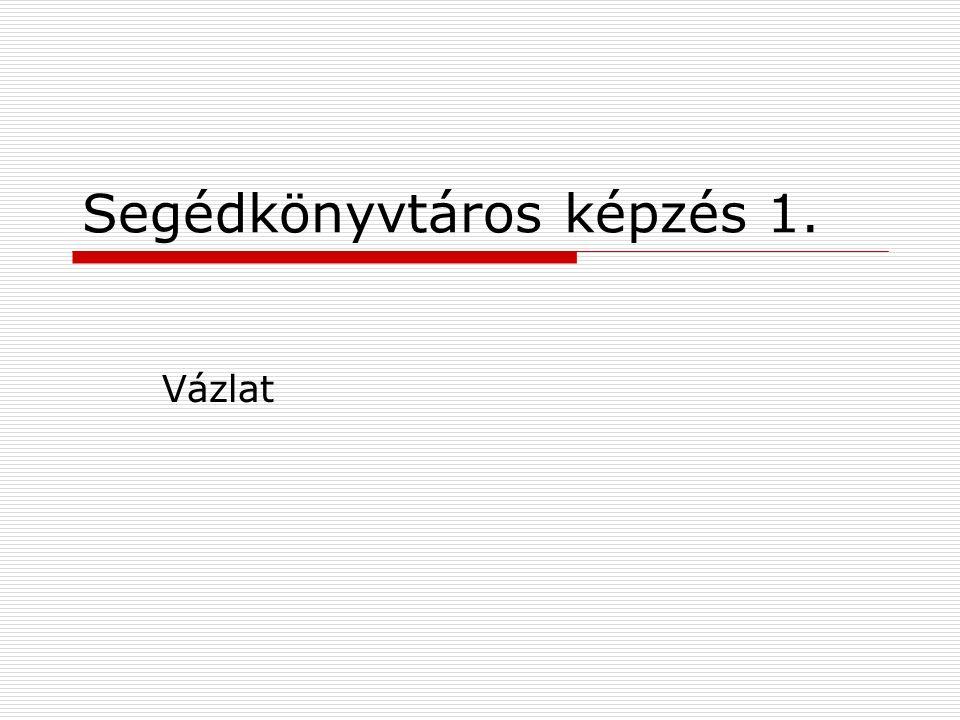 2010Biczák Péter Könyvtári stratégiák PORTÁL PROGRAM – A könyvtárügy stratégiája 2008-2013.