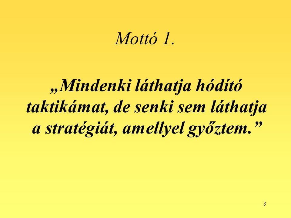 3 Mottó 1.