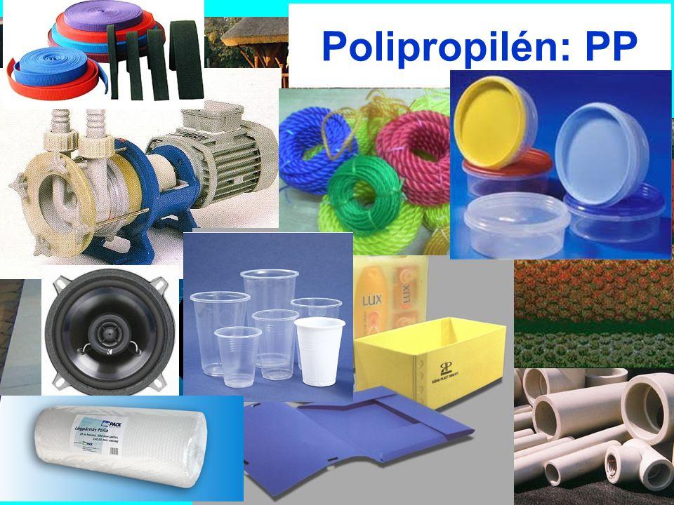 Polipropilén: PP