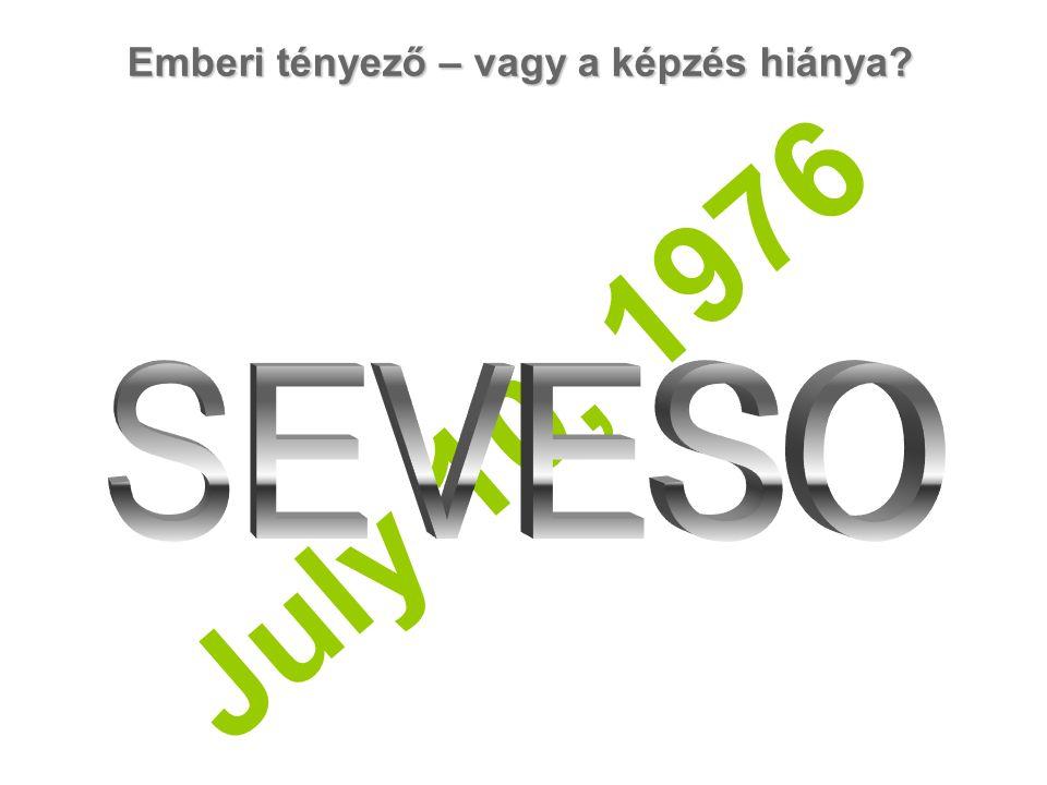 Emberi tényező – vagy a képzés hiánya July 10, 1976