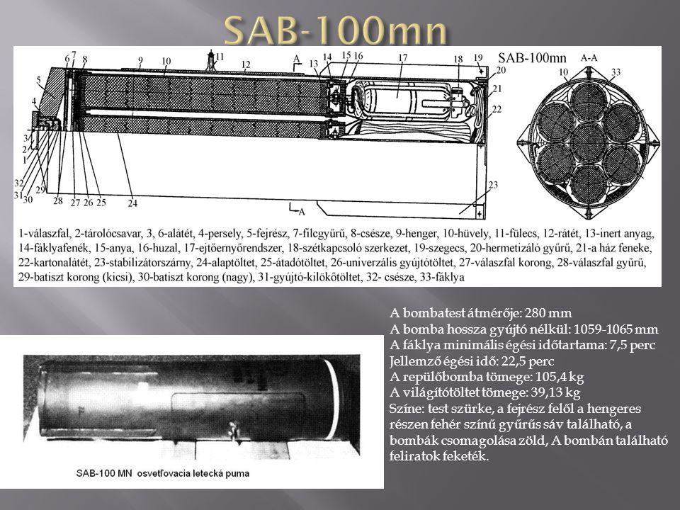  A korong rendeltetése a bombák rögzítése a kazettában.