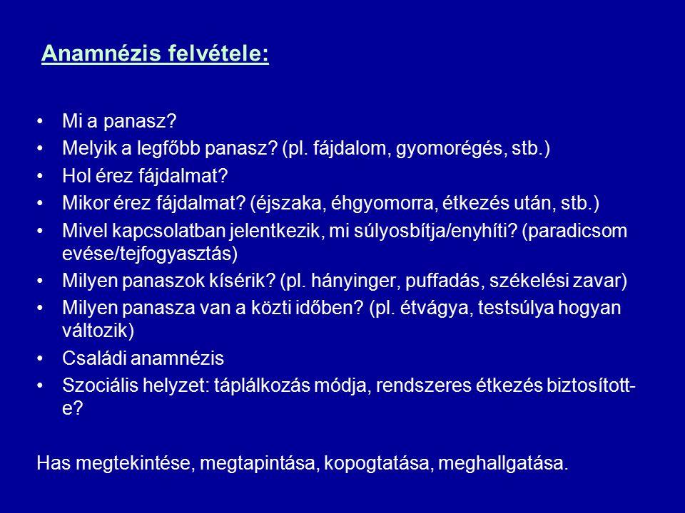 Patogenezis gyomorcc.