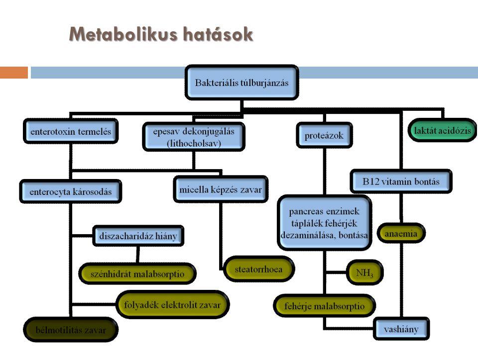 Metabolikus hatások