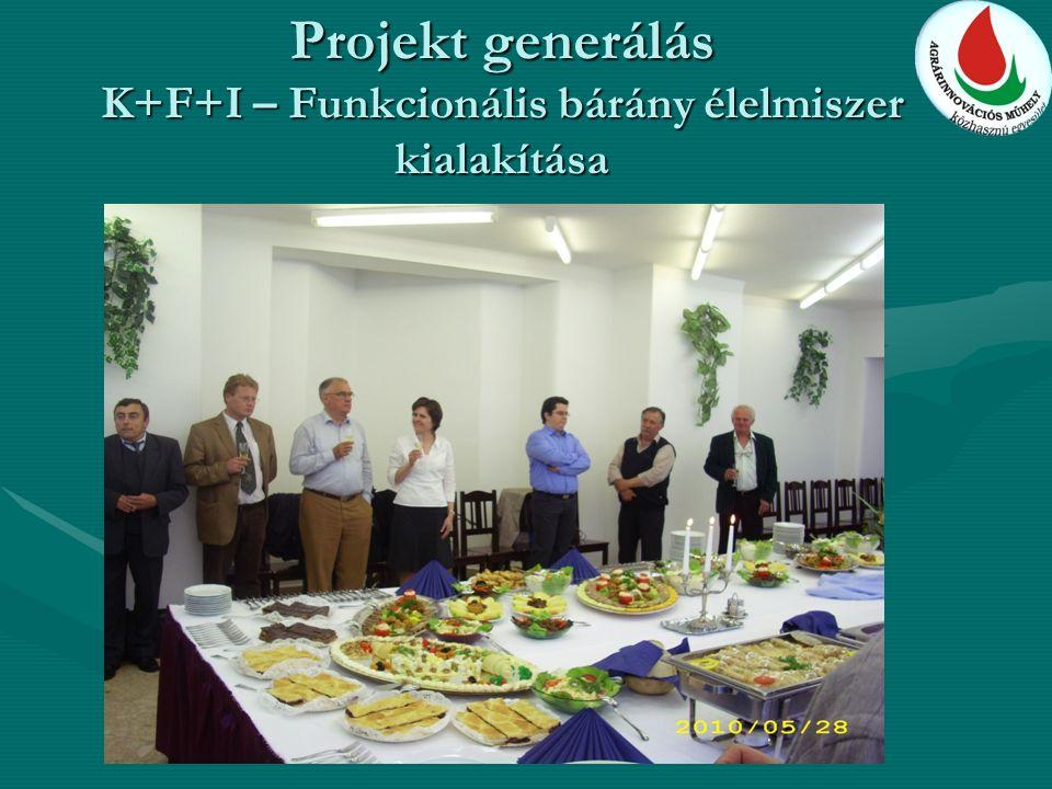 Projekt generálás K+F+I – Funkcionális bárány élelmiszer kialakítása
