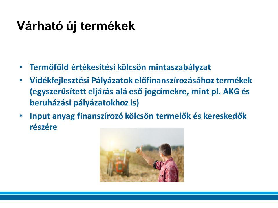 Termőföld értékesítési kölcsön mintaszabályzat Vidékfejlesztési Pályázatok előfinanszírozásához termékek (egyszerűsített eljárás alá eső jogcímekre, mint pl.