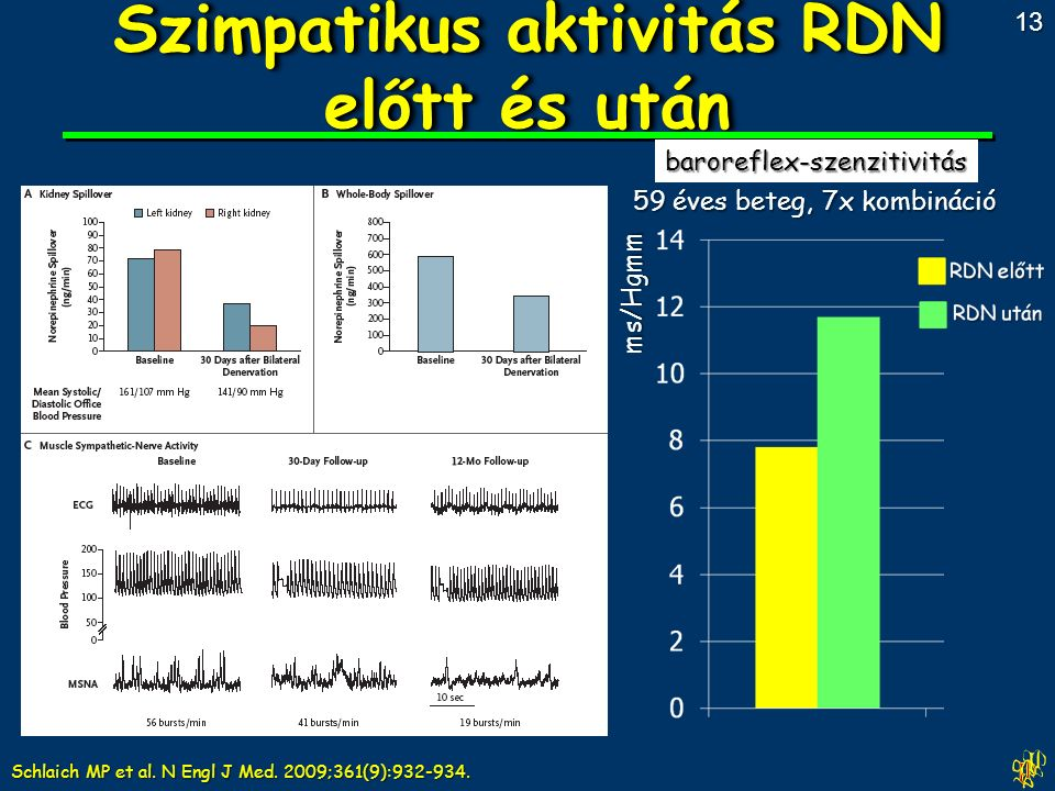 Schlaich MP et al. N Engl J Med. 2009;361(9):932-934.