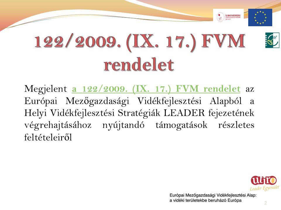 Megjelent a 122/2009. (IX.