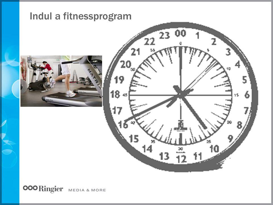 Indul a fitnessprogram