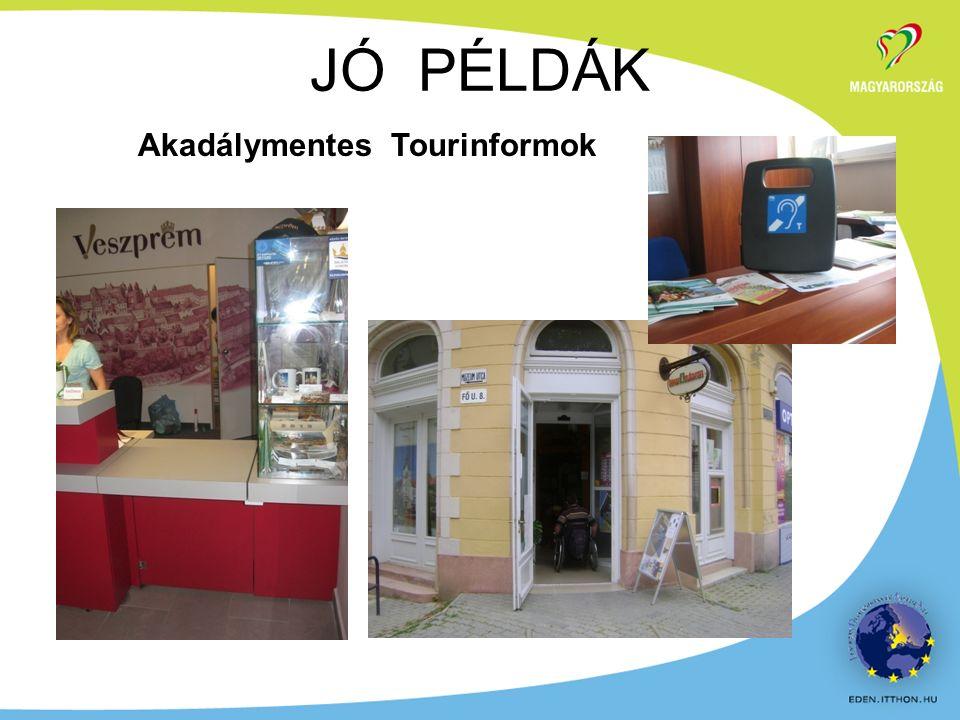 Akadálymentes Tourinformok