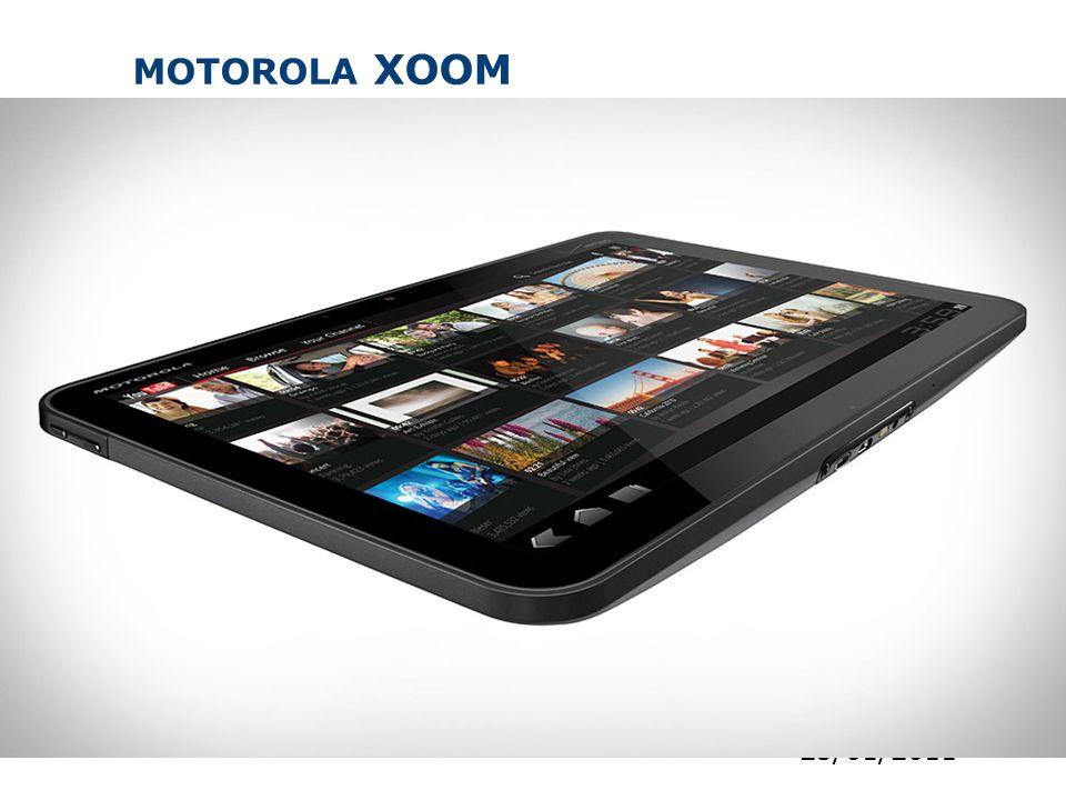 MOTOROLA XOOM 31 25/01/2011