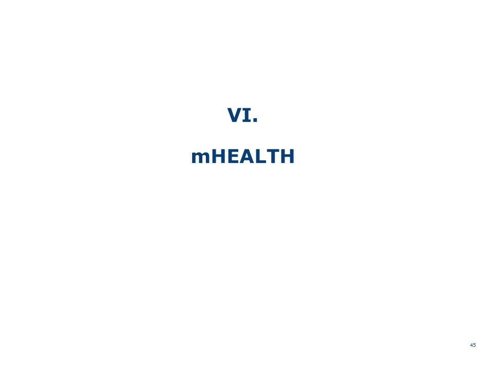 VI. mHEALTH 45