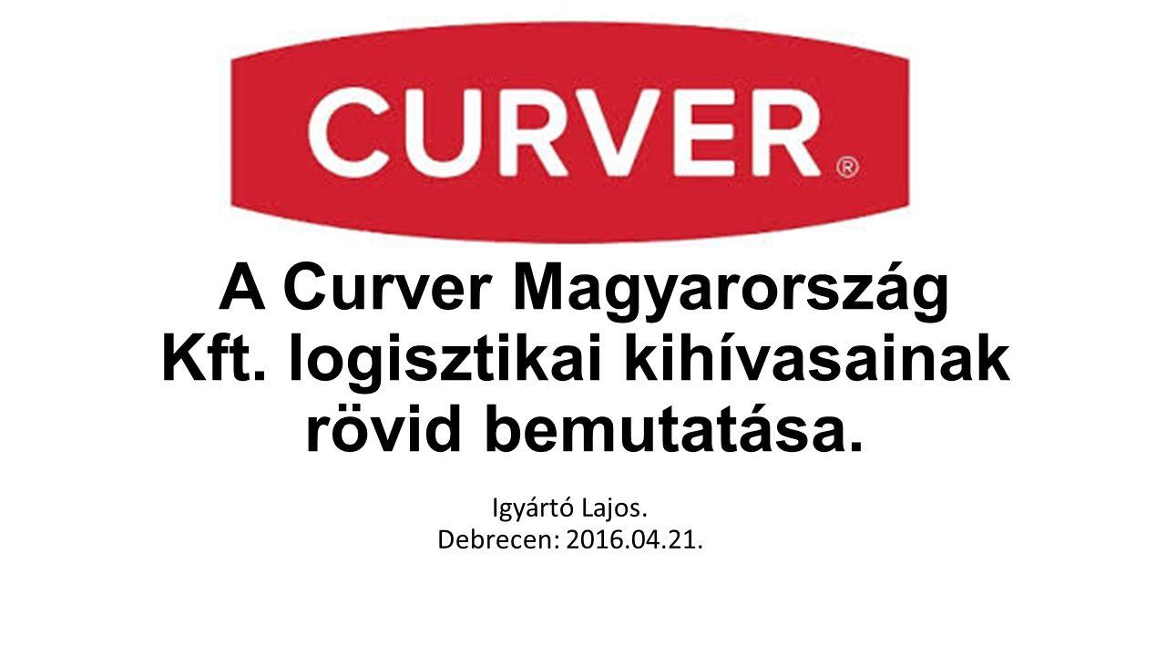 A Curver Magyarország Kft. logisztikai kihívasainak rövid bemutatása.