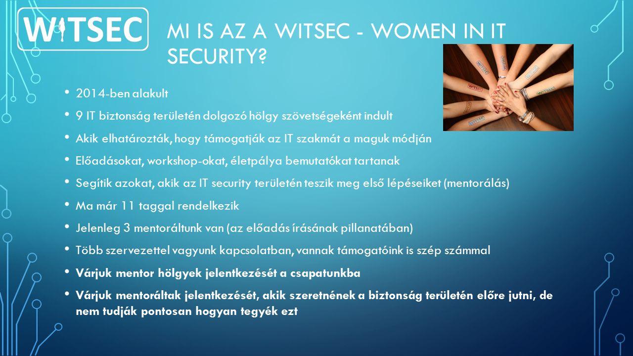 MI IS AZ A WITSEC - WOMEN IN IT SECURITY.
