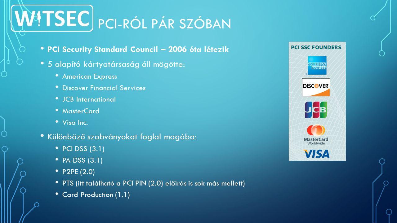 ÖSSZEHASONLÍTÁSUL PCI DSSISO 27001 Elérhetőség Ingyen a webenElég drága Csak angolulMagyarul is Felkészülés 1 év Hatály A hatályát egyértelműen a kártyaadatok előfordulása határozza megA cég határozza meg Mit véd.