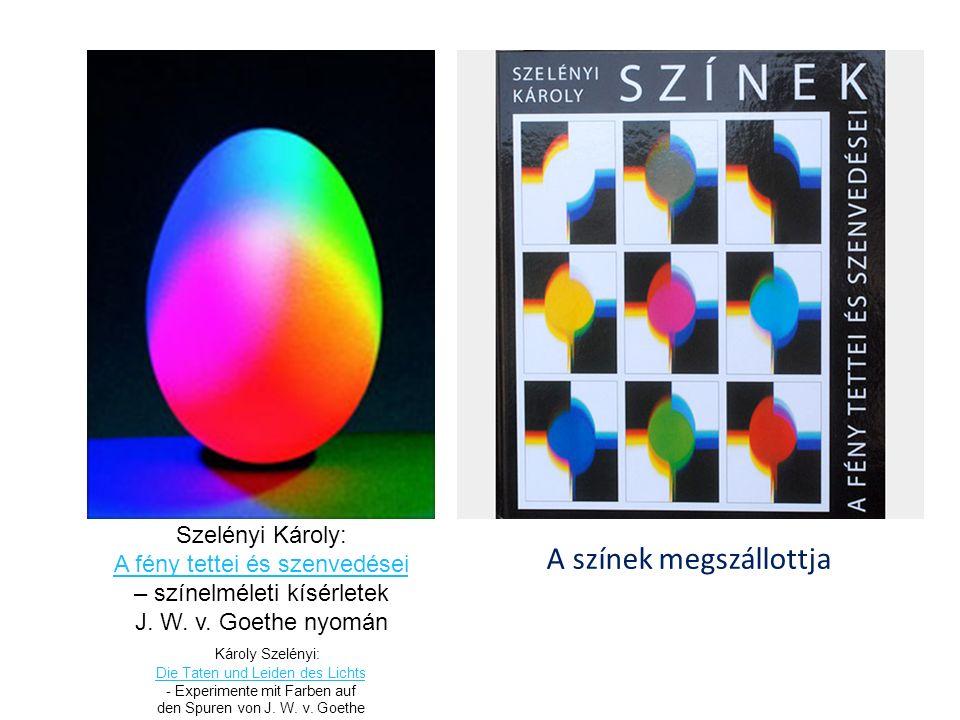 Szelényi Károly: A fény tettei és szenvedései – színelméleti kísérletek J.