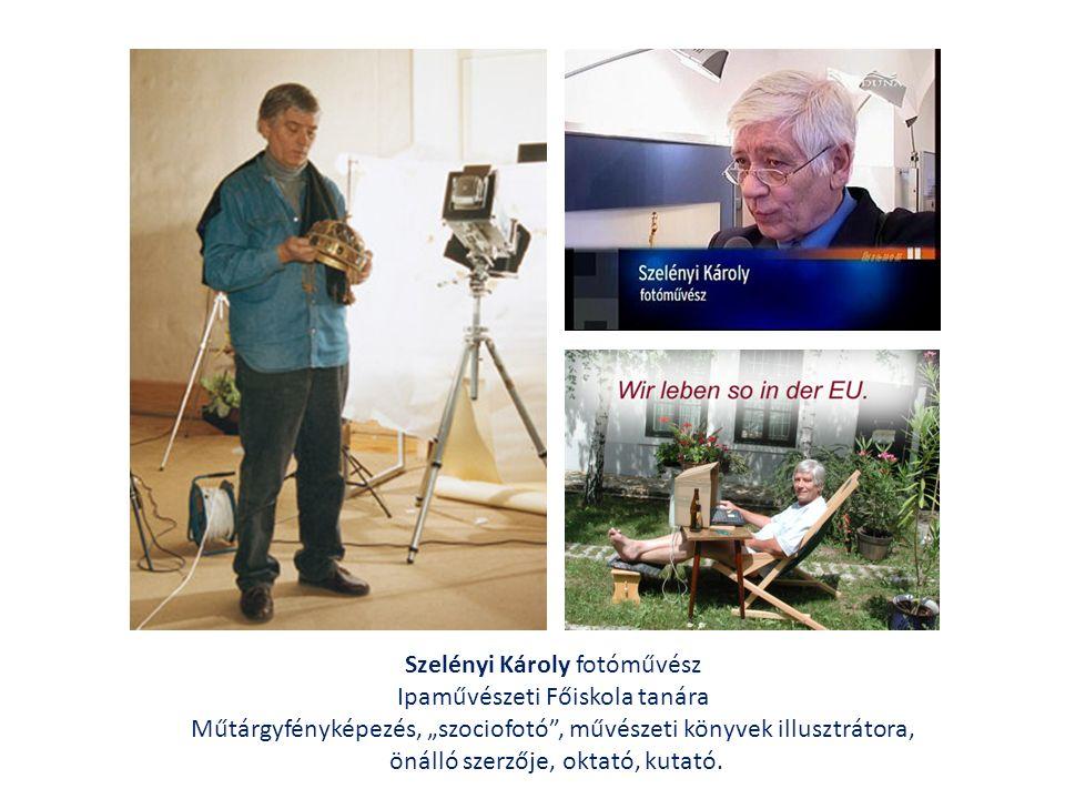 Szelényi 1992-ben Veszprémben egy romos iparos-házból lakóházat és galériát alakított ki.