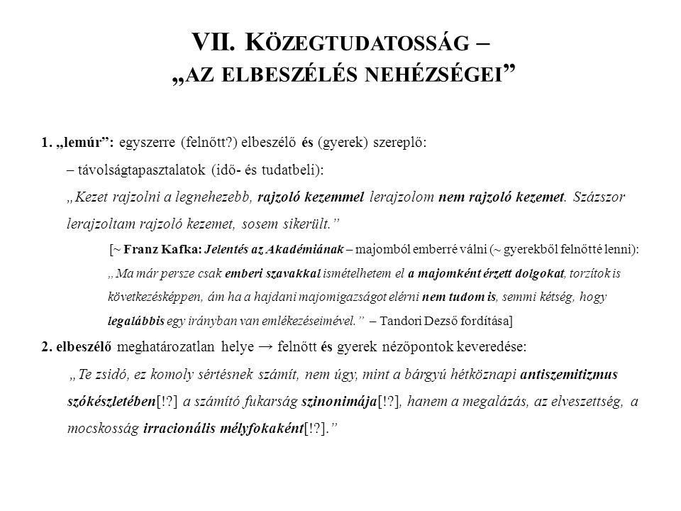VIII.V ALÓSÁGÁBRÁZOLÁS 1.