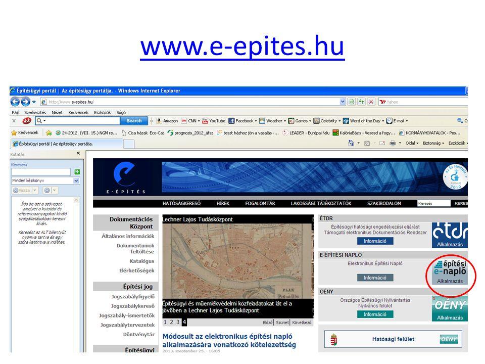 www.e-epites.hu