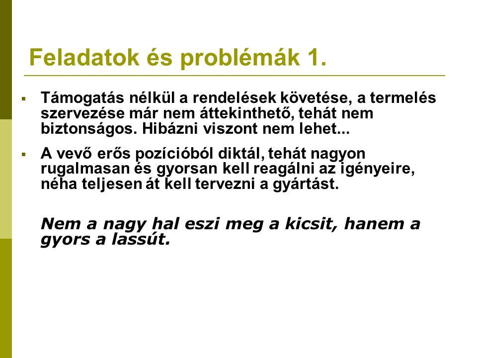 Feladatok és problémák 2.