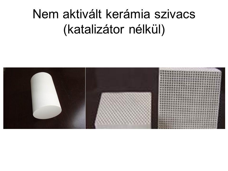 Nem aktivált kerámia szivacs (katalizátor nélkül)