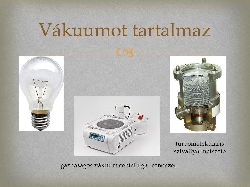  Vákuumot tartalmaz turbómolekuláris szivattyú metszete gazdaságos vákuum centrifuga rendszer