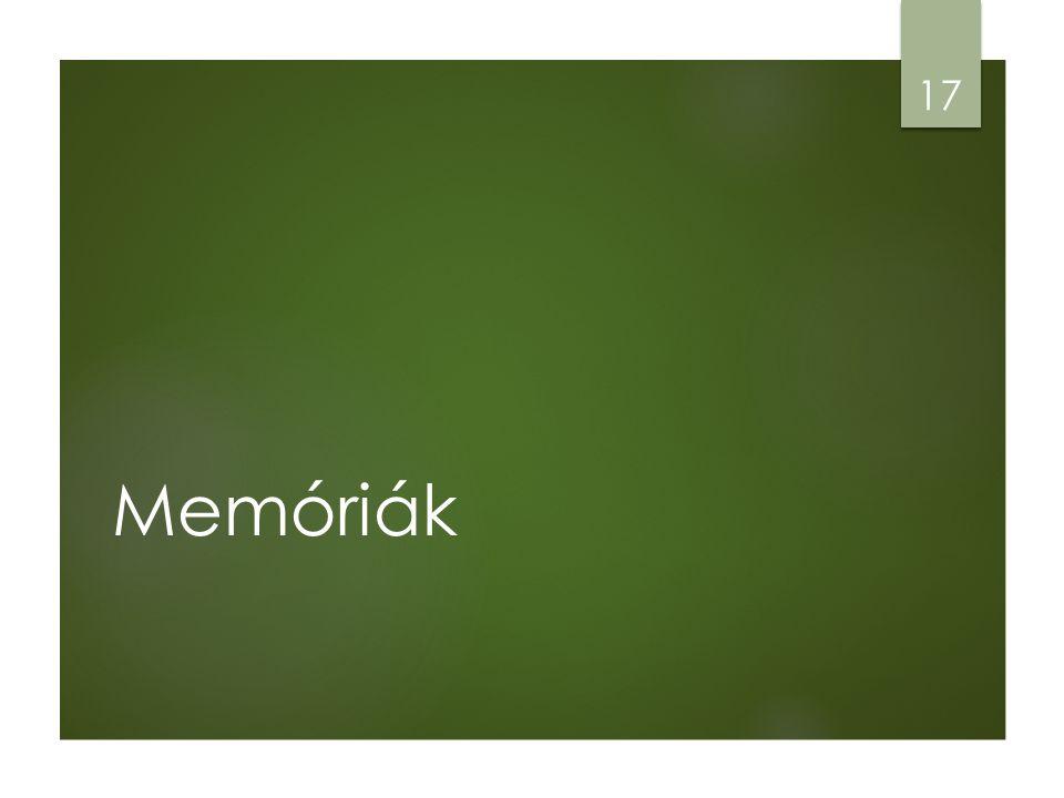 Memóriák 17