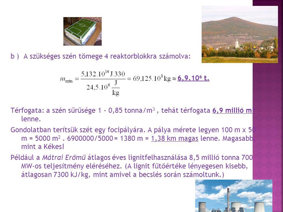 c ) Ha feltesszük, hogy a teljes szénmennyiség tökéletesen elég, akkor a szénatomokból szén-dioxid molekulák lesznek, ezek száma megegyezik a szénatomok számával.