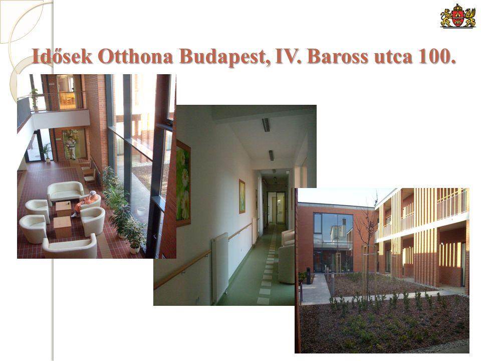Idősek Otthona Budapest, IV. Baross utca 100.