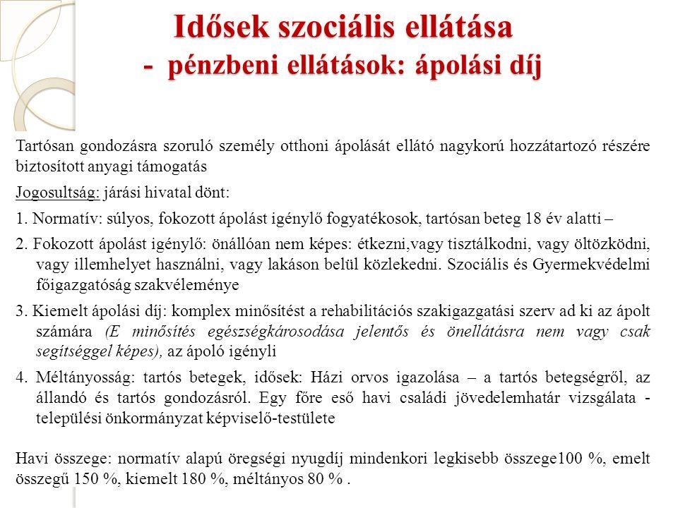 Idősek ezrei ellátás nélkül!!.MNO Szabó Emese, 2015.