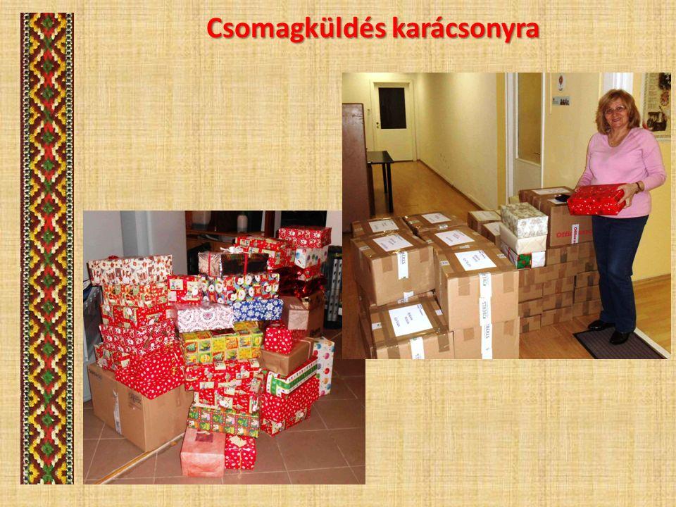 Csomagküldés karácsonyra