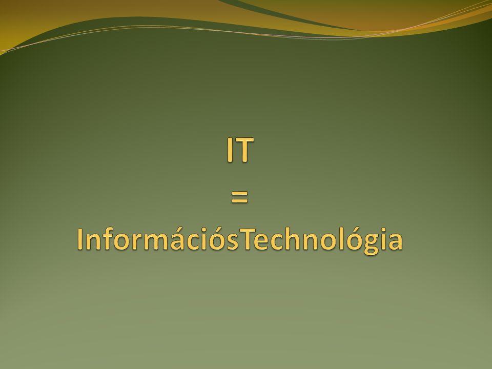 II.Szoftver Fogalma: a hardver egységeket működtető, vezérlő programok összessége.