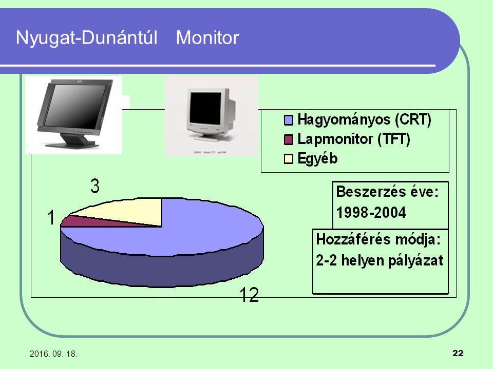 2016. 09. 18. 22 Nyugat-Dunántúl Monitor