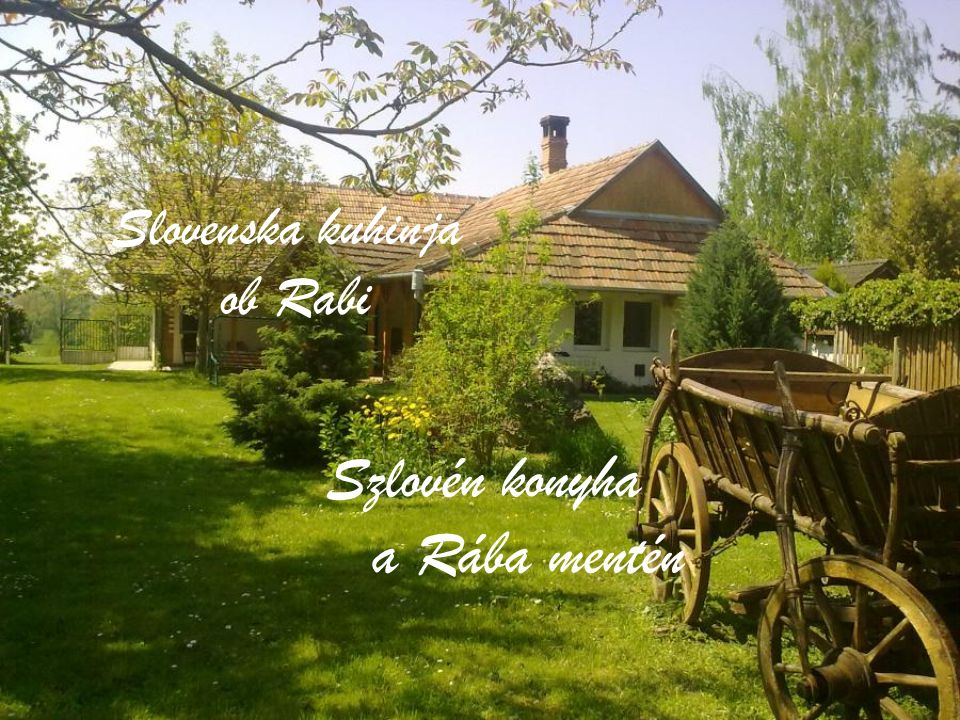 Slovenska kuhinja ob Rabi Szlovén konyha a Rába mentén