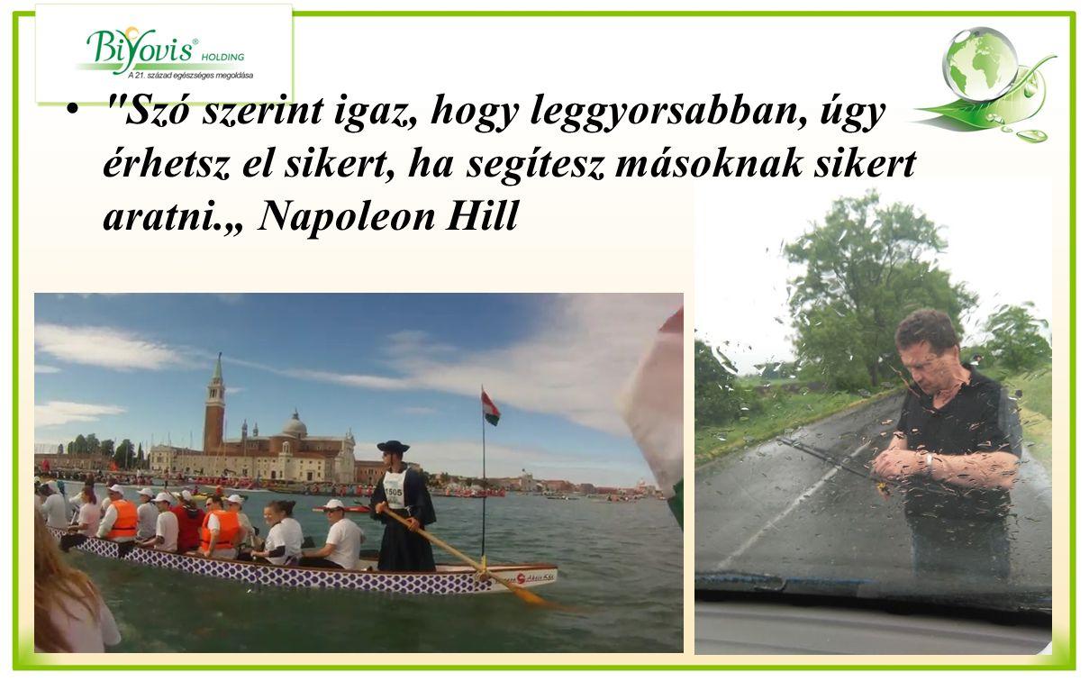 """Szó szerint igaz, hogy leggyorsabban, úgy érhetsz el sikert, ha segítesz másoknak sikert aratni."""" Napoleon Hill"""