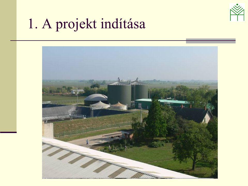 1. A projekt indítása