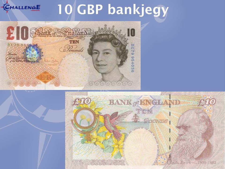 10 GBP bankjegy