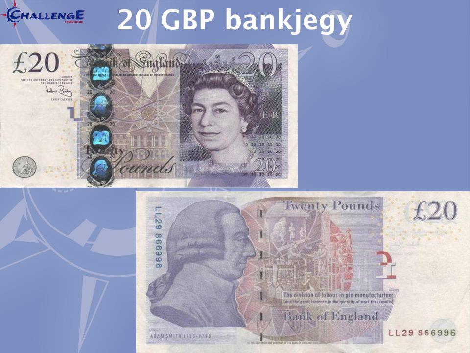 20 GBP bankjegy