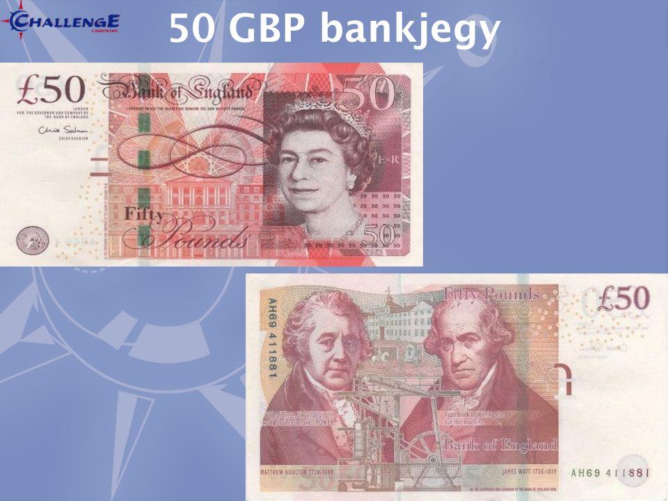 50 GBP bankjegy