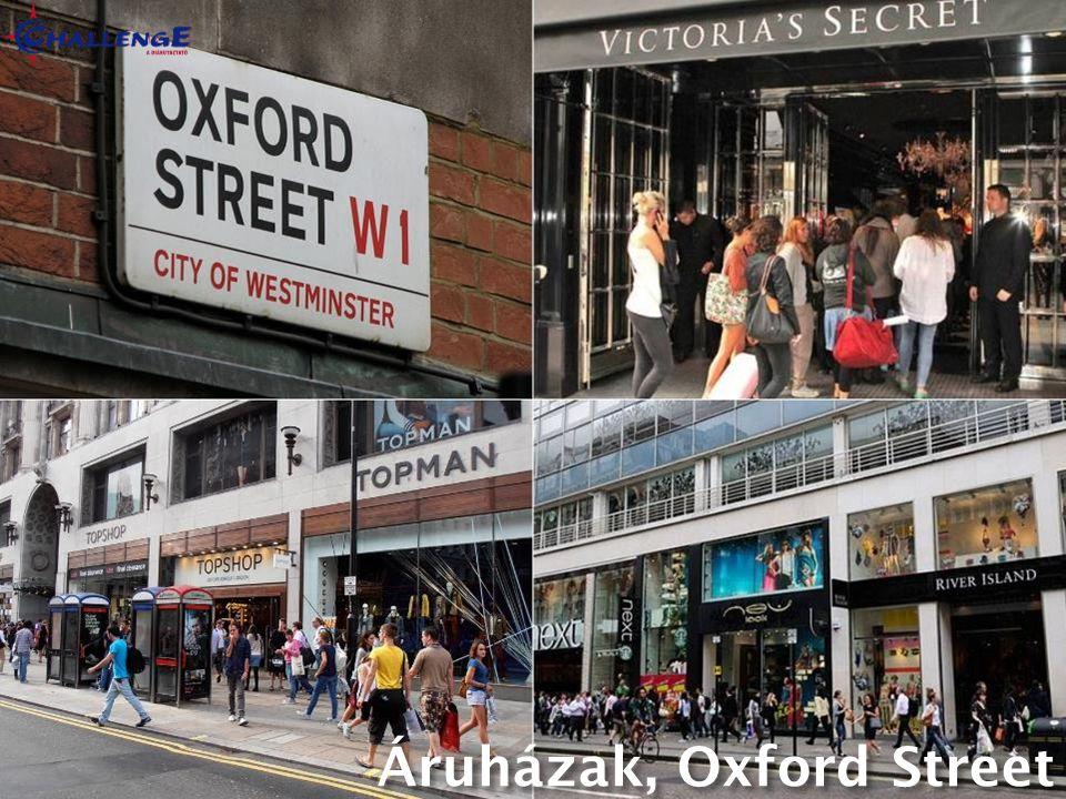 Áruházak, Oxford Street