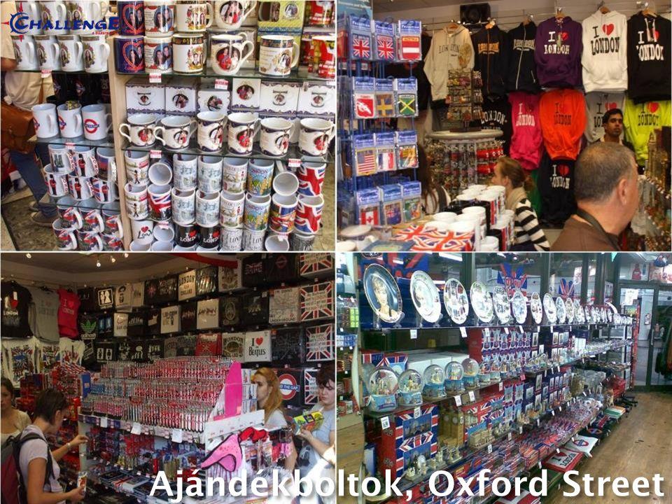Ajándékboltok, Oxford Street