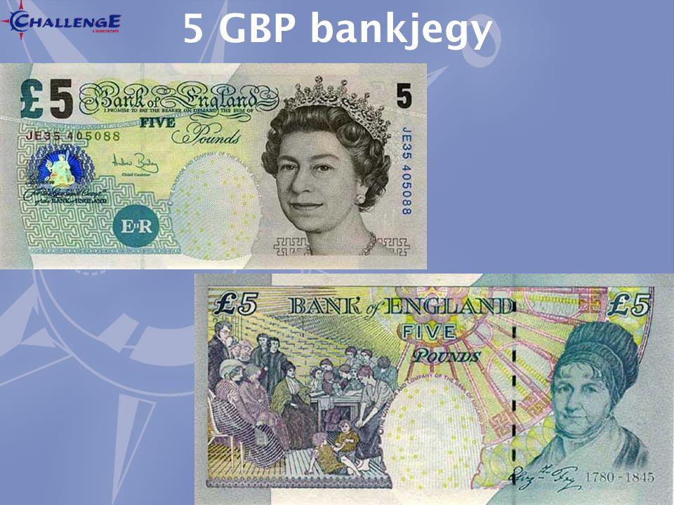 5 GBP bankjegy